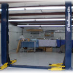 CLFP9 2 post lift shop application.