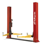CLFP9 two post auto lift is ideal for low ceiling lift applications.