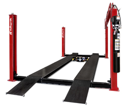 Challenger Four Post Car Lifts: The 44018 Medium Duty Car Lift