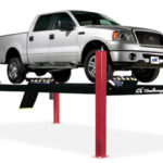 4P14series 4 post hydraulic lift for car and truck lifting.