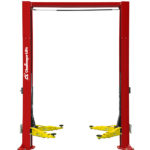 CL12 Heavy Duty two post automotive lift available with 1' and 12' column height extensions.
