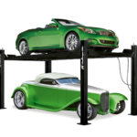 A home car lift perfect for light duty general service