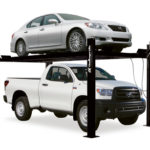 CL4P9 home car lift is also perfect for home storage