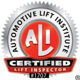 ALI Certification badge